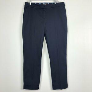 Boden SZ 12 Richmond Stretch Cotton Trousers Navy